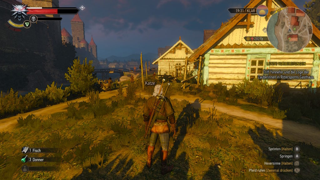 Witcher 3 PC vs Switch: Szene 1 - Switch