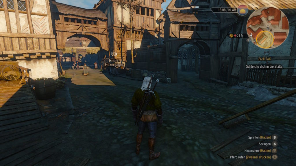 Witcher 3 PC vs Switch: Szene 2 - Switch