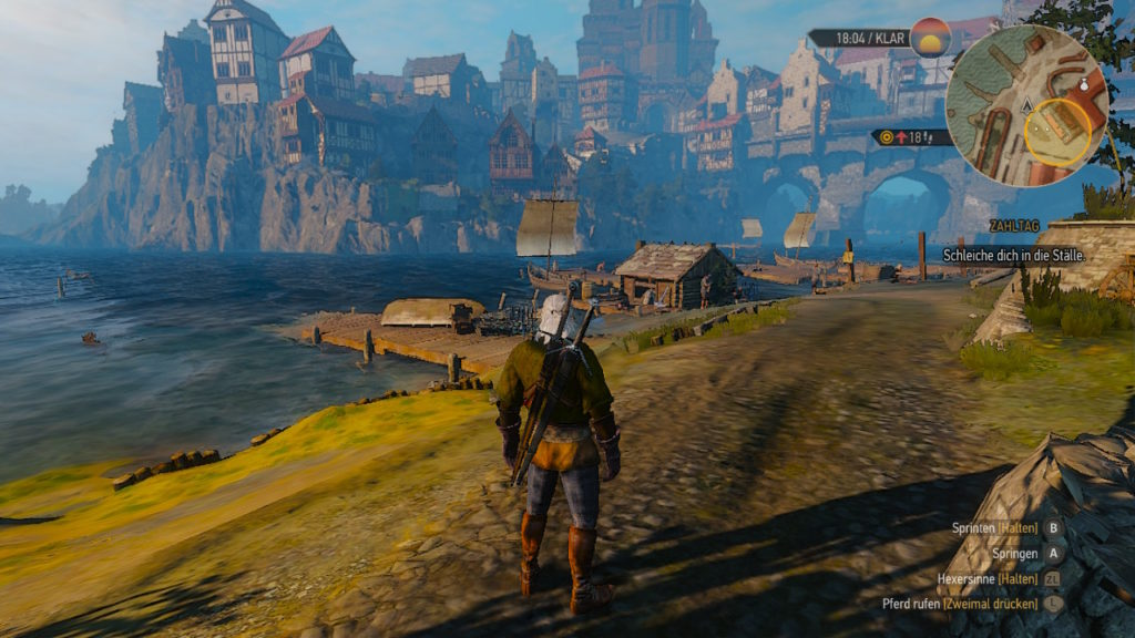 Witcher 3 PC vs Switch: Szene 3 - Switch